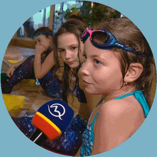 Naše morské panny zaujali v relácii Reflex.